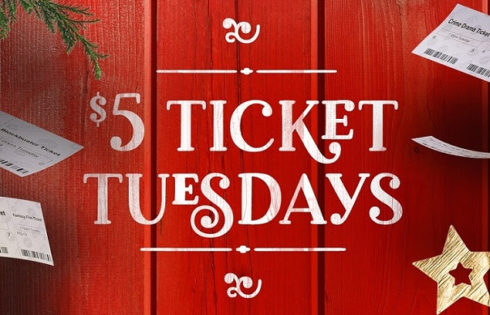 $5 tickets for tuesday