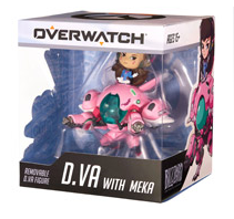 Overwatch D.Va with Meka Figure for  $ 17.50 from $34.99