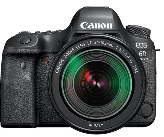 Print  Canon – EOS 6D Mark II DSLR Camera with EF 24-105mm f/3.5-5.6 IS STM Lens – Black for $1,699.99 from $2,399.99
