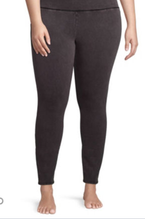Flirtitude Washed Leggings – Juniors Plus for $7.99 from $34