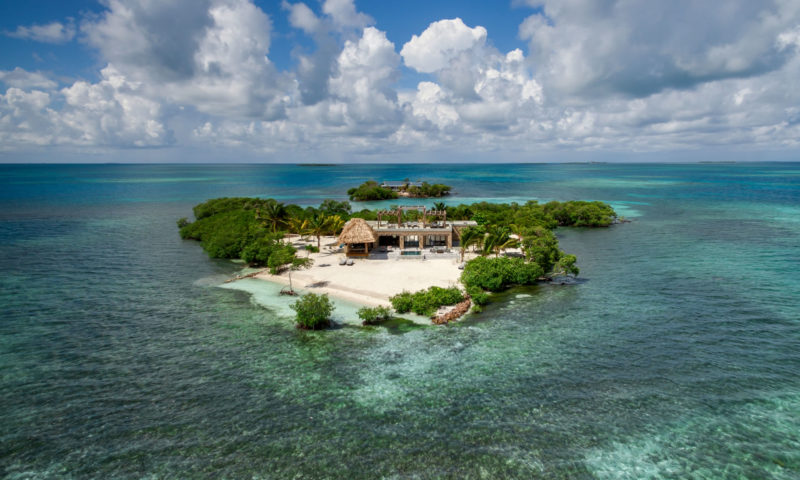 THE MOST PRIVATE ISLAND – BELIZE