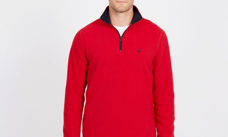 Nautica 50% off on Clarence ZIP NAUTEX PULLOVER $10 was <strike>$60</strike>