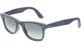 RAY-BAN MEN'S WAYFARER  SUNGLASSES $52 was <strike>$217</strike>