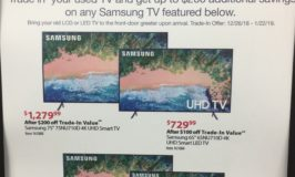 trade in old samsung tv