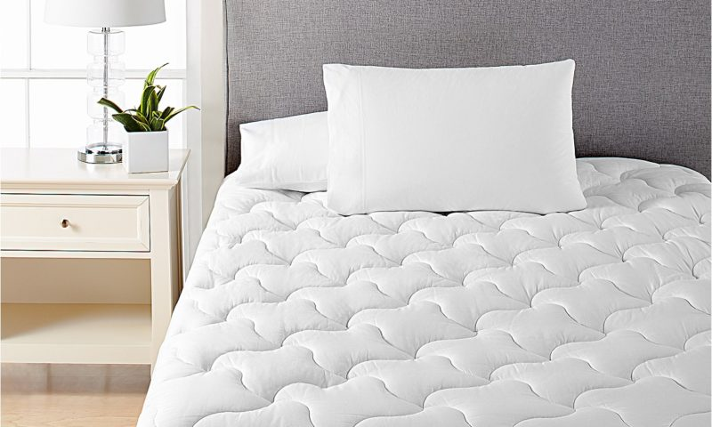 Dream Science Quilted Queen Mattress Pad by Martha Stewart Collection $23