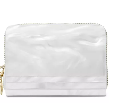 MICHAEL Michael Kors Barbara Marble Zip Around Coin Card Case for $36 from $148