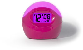 Color-Changing Alarm Clock $4.50