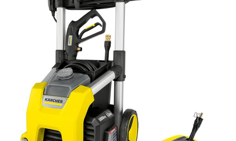Karcher 1800 PSI TruPressure 1.2 GPM Electric Pressure Washer w/ 11″ Surface Cleaner $30 Off