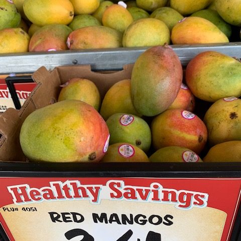mango 3 for a dollar in sprout