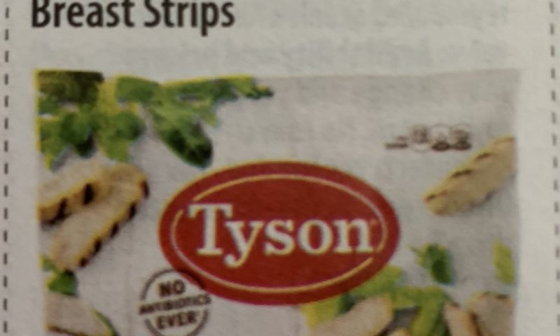 Tyson Grilled Chicken Breast Strips $3 off