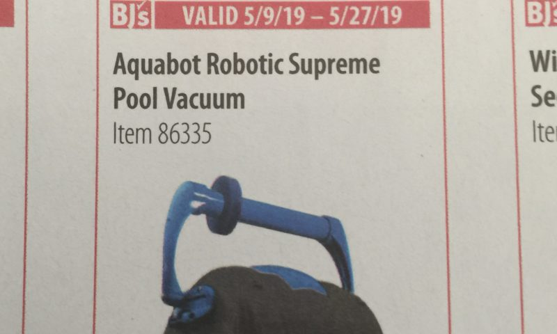 Aquabot Robotic Supreme Pool Vacuum $40 off