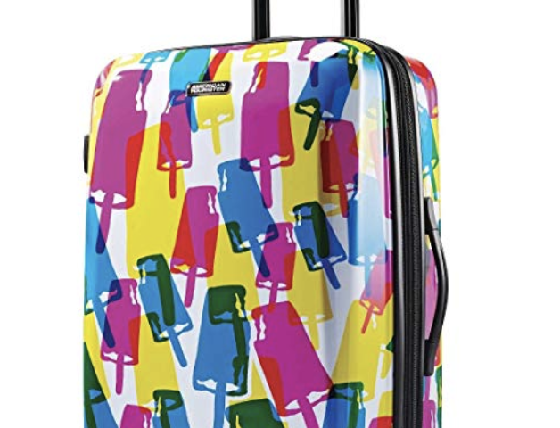 American Tourister Moonlight Expandable Hardside Luggage with Spinner Wheels $59