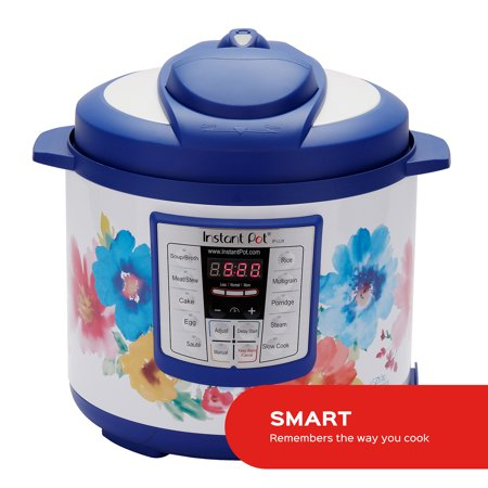 Instant Pot 6 Qt 6-in-1 Multi-Use Programmable Pressure Cooker, Slow Cooker, Rice Cooker, Saute, Steamer, and Warmer