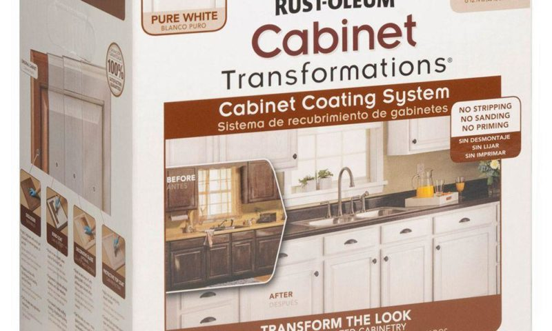 Rust-Oleum Cabinet Transformations 1 qt. Pure White Cabinet Small Kit $51