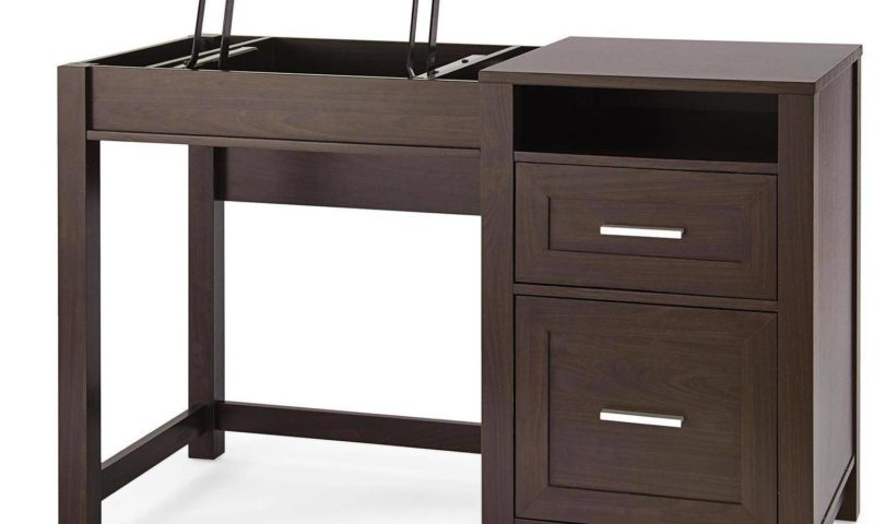 Lift Top Desk, Espresso $99 was <strike>$179</strike>