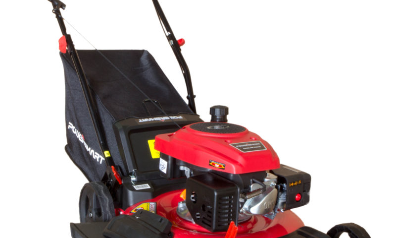 PowerSmart 21″ 3-in-1 160cc Gas Push Lawn Mower for $175