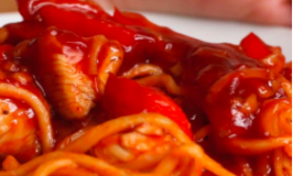Sweet-and-sour Chicken Noodles Recipe
