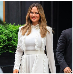 Chrissy Teigen Reveals Her Secret to Perfect Legs