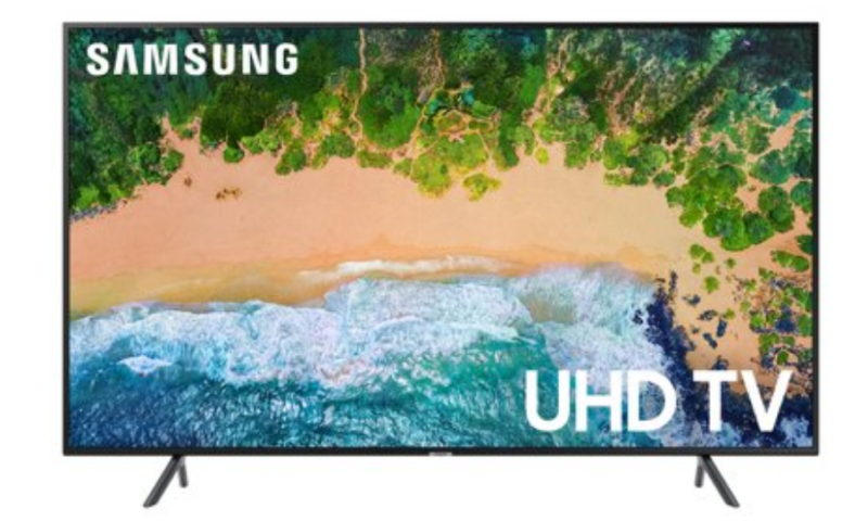 SAMSUNG 55″ Class 4K Ultra HD Smart LED HDR TV $399
