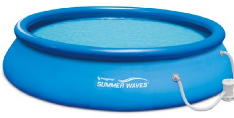15'x36″ Quick Set Above Ground Swimming Pool $77 was <strike>$109</strike>