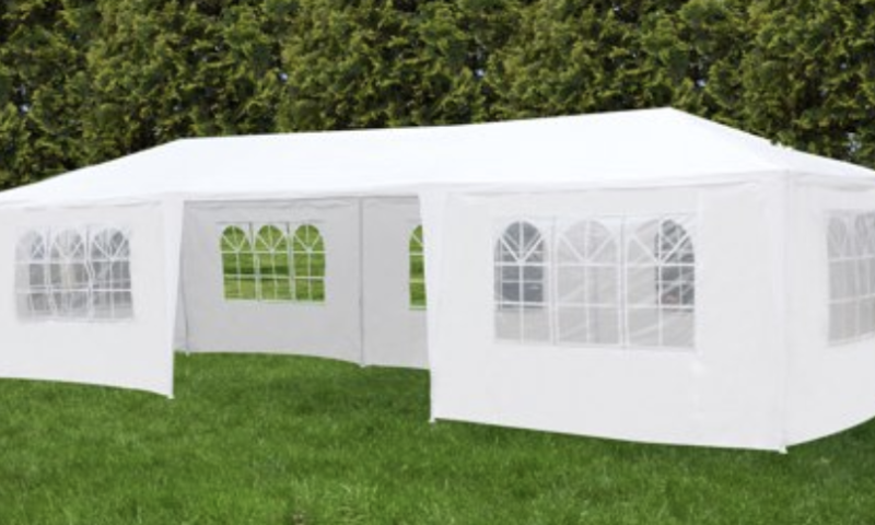 Outdoor Patio Tent Canopy Gazebo Pavilion w/7 Side Walls $99 <strike>$229</strike>