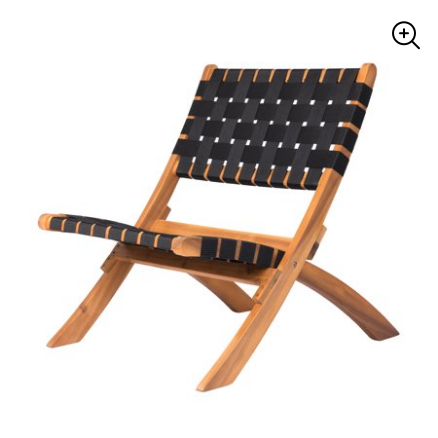 New Sava Folding Outdoor Chair for $72 from $88