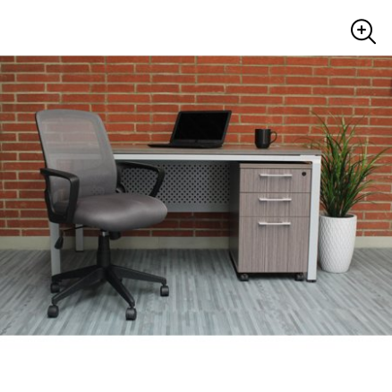 Boss Office Products Transitional Grey Mesh Task Chair for $64 from $71