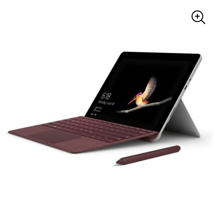 "NEW 10"" Microsoft Surface Go, Intel Pentium, 4GB Memory, 64GB Storage for $346 from $400"