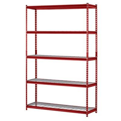 5-Shelf Steel Garage Storage Wire Shelving Unit $68