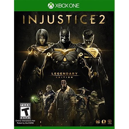 Injustice 2 Legendary Edition, Warner Bros, Xbox One for $19 from $40