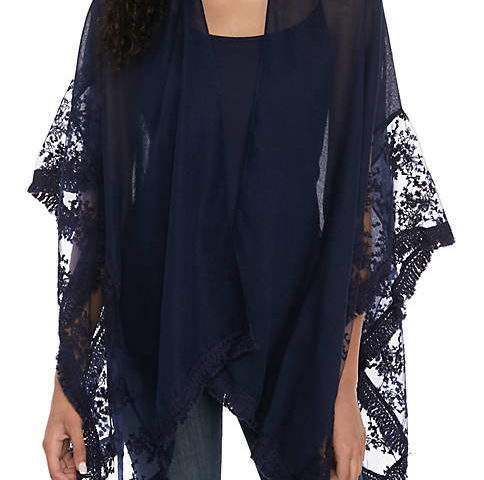Kaari Blue™ Lace Border Cover Up for $20 from $38