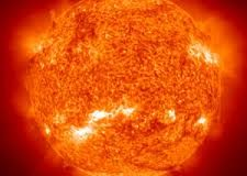 What is the sun made out of?