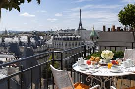 Best Hotels with a View of the Eiffel Tower – Paris, France