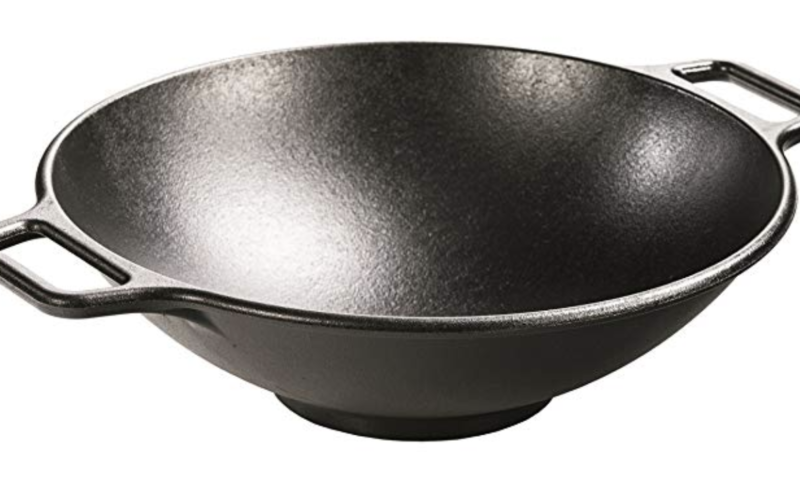 14″ Lodge Cast Iron Wok for $39 <strike>$85</strike>