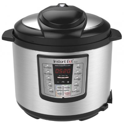 Instant Pot V3 6 Qt 6-in-1 Multi-Use Programmable Pressure Cooker, Slow Cooker, Rice Cooker, Sauté, Steamer, and Warmer $49