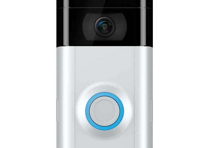 Ring Video Doorbell 2 with 12 Months Ring Protect Plus $129 after $60 off