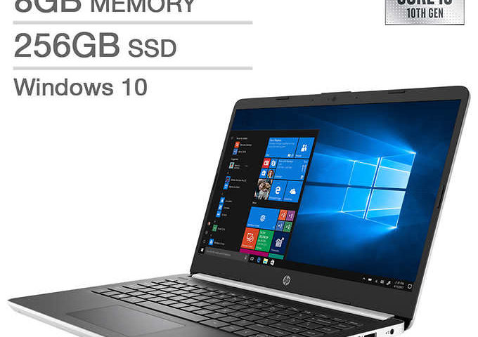 HP 14″ Laptop 10th Gen Intel Core i5 $399 after $180 off