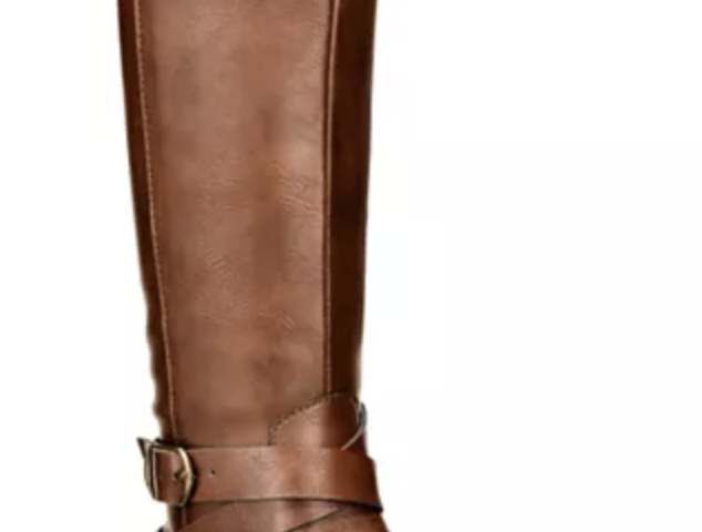 Madixe Wide-Calf Riding Boots $20