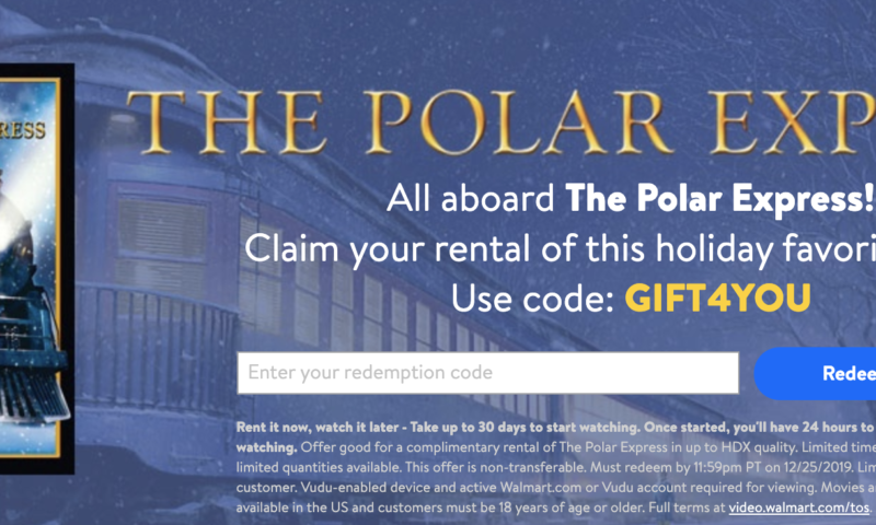 free polar express movie