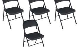 Set of 4 Cosco Steel Folding Chairs $44 was $90