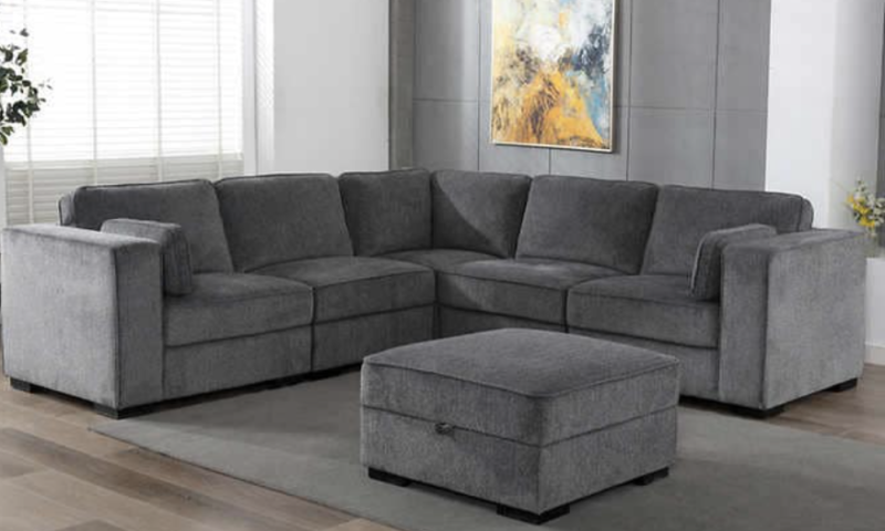 Brookhaven 6-piece Fabric Sectional $400 off
