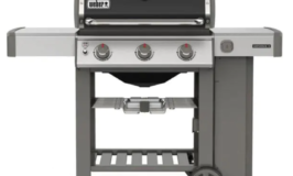 Weber 3 Burner Propane Gas Grill in Black with Built-In Thermometer $50 off