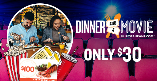 Movie and Dinner for a deal