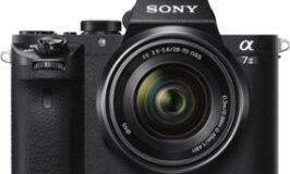 Sony Full-Frame Mirrorless Video Camera with 28-70mm Lens – Black $1199.9 (is reduced  $400.00)