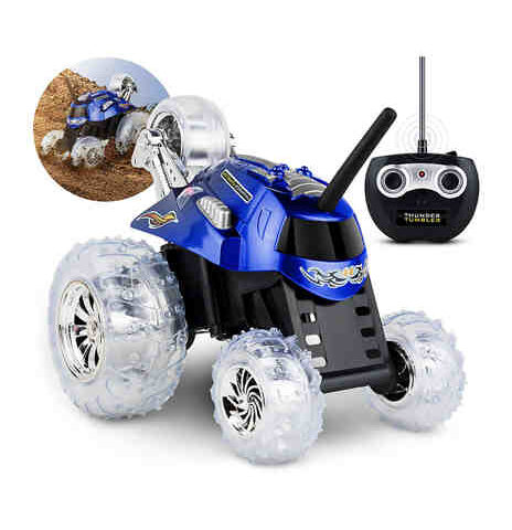 Sharper Image Thunder Tumbler Toy Remote Control Car 27 MHz $12.20 (is reduced $42)