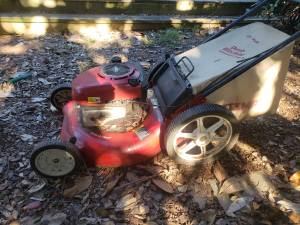 Lawn Mower is now Free