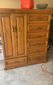 dresser amoire furniture piece is now Free
