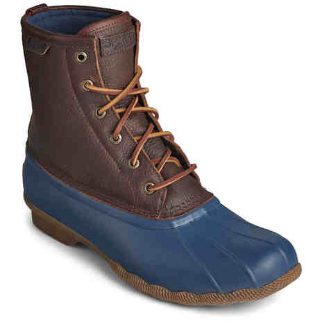 """Saltwater Duck Boots  <span style=""""color:green"""">$79.90</span>  <strike><span style=""""color:red"""">$130.00</span></strike>"""
