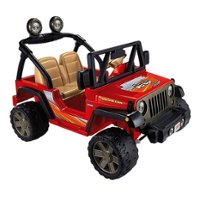 """Power Wheels – Realistic Jeep Wrangler 2 Seat Kid's Ride On Car <span style=""""color:green"""">$290.90</span> <span style=""""color:red"""">save $169</span> was <strike><span style=""""color:red"""">$459.90</span></strike>"""