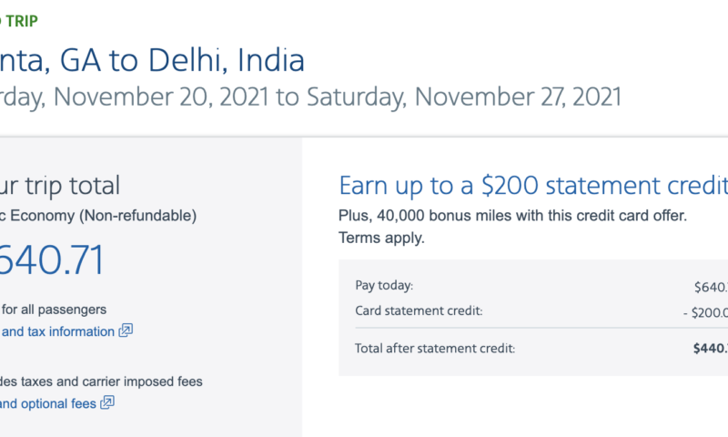 Travel this holiday to India from USA for $400 roundtrip
